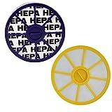 YanBan Kit de filtres HEPA anti-allergie avant et après-moteur pour aspirateurs...