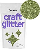 "Hemway Craft Paillettes fine 1/162,6 cm 0 cm 0,4 mm, vert citron, FINE 1/64"" 0.015"" 0.4MM"
