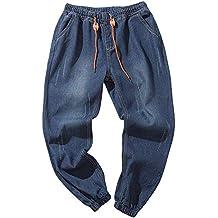 caa62ef562 VPASS Pantalones Vaqueros para Hombre