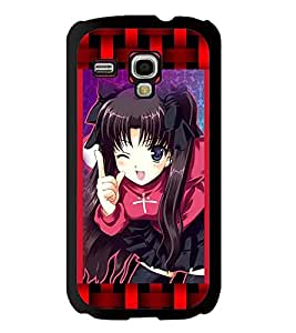 Fuson 2D Printed Girly Designer back case cover for Samsung Galaxy S3 Mini - D4157
