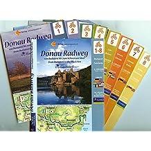 Der neue Donau-Radweg von Budapest bis zum Schwarzen Meer: Die offizielle Euro Velo Route von Budapest bis zum Schwarzen Meer. 1 : 100 000