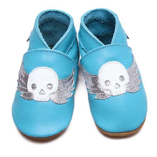Inch Blue , Baby Jungen Krabbelschuhe & Puschen Blau 20-22 cm