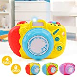 Meiyiu Educational Musical Toy Camera Funny Simulation Cameras With Sound And Light For Children