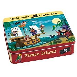 Mudpuppy - Puzzle coleccionable, diseño de isla pirata (MPPM37077)