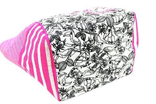 Borsa mare Gian Marco Venturi donna moda mare l.tucano 43400 rosa