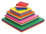 Stephens - Pack de 480 cuadrados de papel pinocho (75 mm)