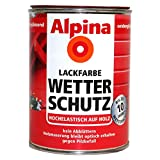 Alpina Lackfarbe Wetterschutz sg kaschmiergrau 2L