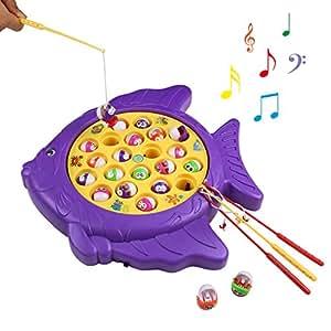 angelspiel elektrische fischform musikspielzeug mit 3 lautst rkeschalter geschenk f r kinder ab. Black Bedroom Furniture Sets. Home Design Ideas