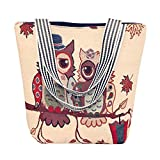 Frauen Canvas Cartoon Handtasche Schulter Messenger Bag Damen Satchel Tote Bags Zolimx
