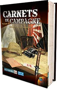 Asmodee - MEM18 - Jeu de Stratégie - Mémoire 44 - Extension - Carnet de Campagne 2