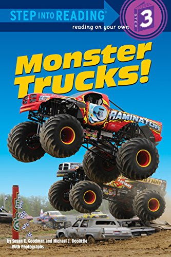 Monster Trucks! (Step Into Reading, Step 3)