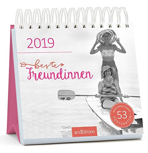 Beste Freundinnen 2019: Postkartenkalender