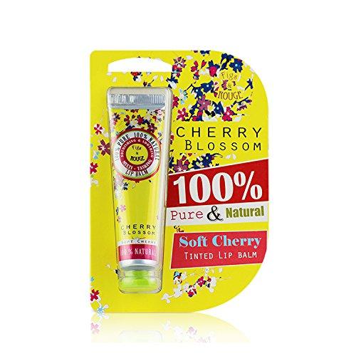 Figs & Rouge Baume Teinté pour les Lèvres Parfum Cherry Blossom Couleur Soft Cherry Tube 12,5 ml