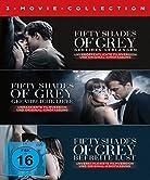 """FIFTY SHADES OF-3 MOVIE$FSK:16""""Fifty Shades Of Grey - Geheimes Verlangen"""" In der Verfilmung des weltweiten Bestsellers """"Fifty Shades Of Grey - Geheimes Verlangen"""" begeistern Dakota Johnson und Jamie Dornan als Anastasia Steele und Christian Grey. Die..."""