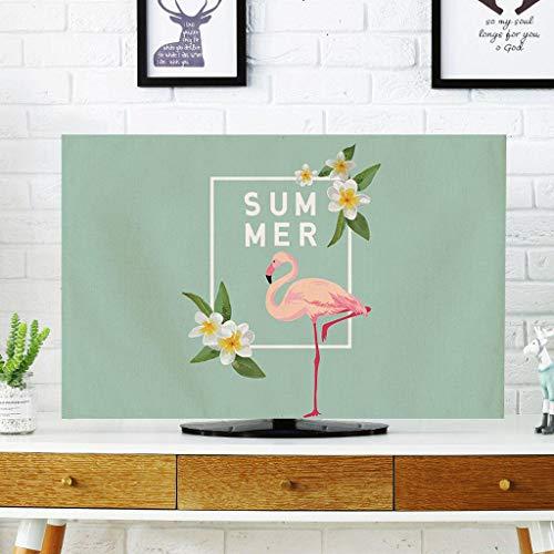 Monitor Hülle, einfache Moderne TV-Abdeckung Wandbehang LCD-TV-Schutzhülle Gebogene Display-Staubschutzhülle-32Zoll-G