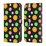 Head Case Designs Offizielle PLdesign Sommer Fruechten Druck Nahrung Brieftasche Handyhülle aus Leder für iPhone 6 / iPhone 6s