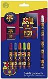 Futbol Club Barcelona - Set de papelería 9 piezas (CYP Imports GS-408-BC)