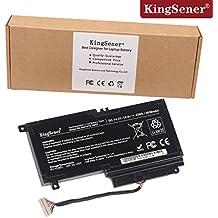 KingSener PA5107U-1BRS para ordenador portátil Toshiba L45 L45D L50 S55 P55 L55t P50 P55 S55 PA5107U-1BRS 14,4V 2838mAh