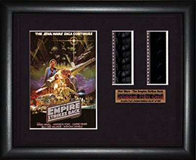 "Star Wars, The Empire Strikes Back ""- Cadre photo double filmcell x (bd)"