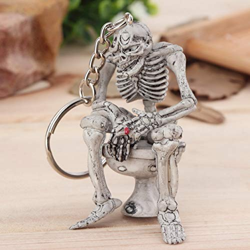 Dailyinshop Esqueleto en el Inodoro