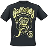 Gas Monkey Garage Logo T-Shirt schwarz L