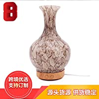 Jarrones de cerámica, translucido, aromaterapia, aceites esenciales, humidificadores, maquinas,Brown