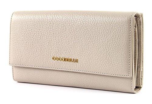 Coccinelle Metallic Soft Flap Wallet Seashell