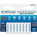 Eneloop E8LR6 Lot de 8 piles