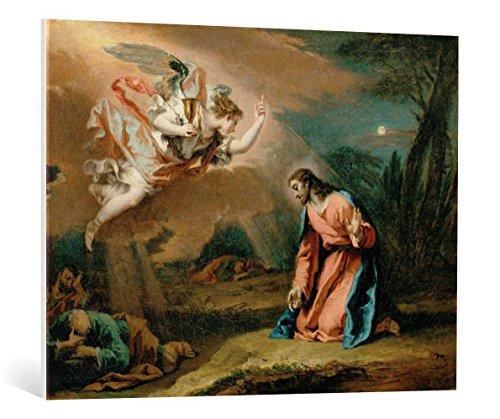 kunst für alle Leinwandbild: Sebastiano Ricci Christus am Ölberg - hochwertiger Druck, Leinwand auf Keilrahmen, Bild fertig zum Aufhängen, 100x75 cm Ricci Kunst