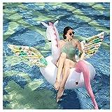 FGHUB Luftmatratze Wasser Pool Spielzeug Badeinsel Schwimminsel WasserhäNgematte Luftmatratze...