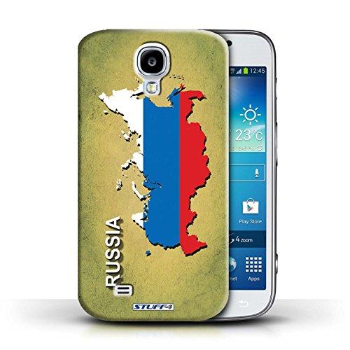 Kobalt® Imprimé Etui / Coque pour Samsung Galaxy S4/SIV / Amérique/Américain/USA conception / Série Drapeau Pays Russie/Russe