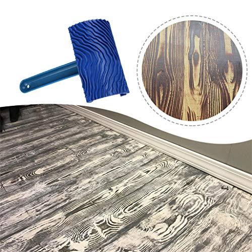 AE Bei Home Decor, Holzmaserung, Gummi, DIY Maserung, Malwerkzeug für Wanddekoration
