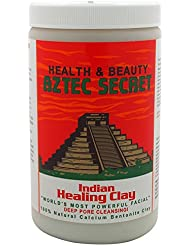 Aztec Secret Indian Healing Clay, Deep Pore Cleansing!, 2 lbs (908 g) 3.7 x 3.7 x 6.4 inches