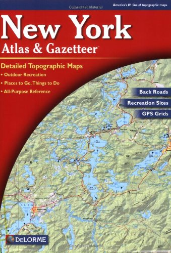 Price comparison product image New York State Atlas and Gazetteer (New York State Atlas & Gazetteer)