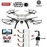 Galleria fotografica Togather Syma X5HW FPV Explorers 2.4Ghz 6-Axis Gyro RC senza testa Quadcopter Drone UFO con Wifi Camera (migliore...