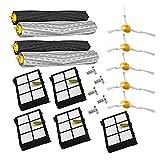 Cepillos y Filtros Kit de Reemplazo para Irobot Roomba 800/900 Series 800 860 870 880 900 980 Accesorios de Piezas de Reemplazo para Aspiradoras