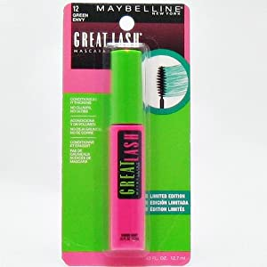 Maybelline Great Lash Mascara, 12 Green Envy