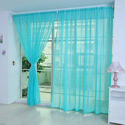 1pz tulle porta finestra tenda, bescita romantico tenda, pure color opzionale drappo pannello sheer sciarpa mantovane camera da letto soggiorno decorazione, h, e