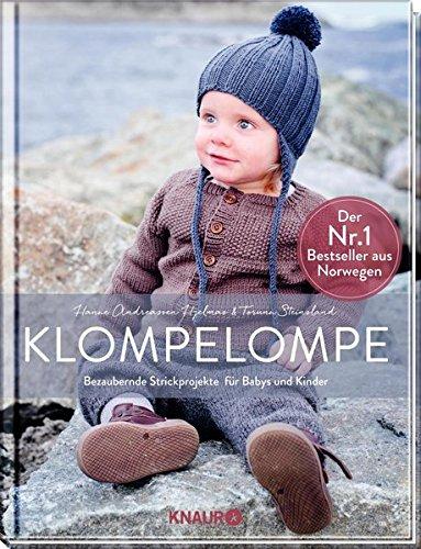 Baby Pullover Stricken (Klompelompe - Bezaubernde Strickprojekte für Babys und Kinder: Der Nr. 1 Bestseller aus Norwegen)