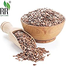 RR Agro Foods Premium Flax Seeds Pack of (3 KG)