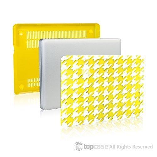 TopCase Yellow / White Houndstooth Ultra Slim Light, gebraucht gebraucht kaufen  Wird an jeden Ort in Deutschland