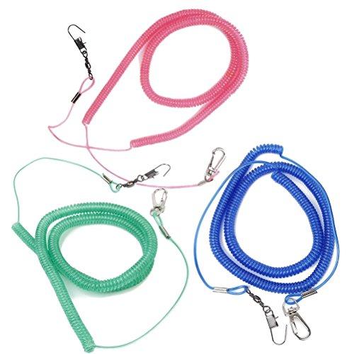 UEETEK 1 Stück Papagei Vogelleine Kit Anti-Bite Fliegen Training Seil für Agapornis Fischeri (zufällige Farbe)