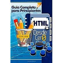 HTML desde cero by Alfredo Limongi (2013-05-06)