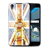 Stuff4® Hülle/Case für BlackBerry Neon/DTEK50/Big Ben Flagge Muster/Großbritannien/Britischer Stolz Kollektion