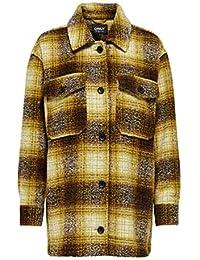 Only Onlallison Check Wool Shacket CC Otw Camisa para Mujer