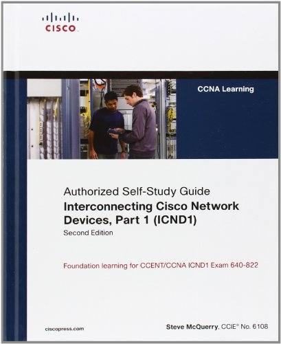 Cisco CCENT Mind Share Game and Interconnecting Cisco Network Devices, Part 1 (ICND1) Bundle por Stephen McQuerry