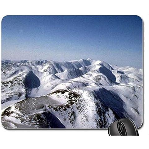 Nizza Mountain View Mouse Pad, Mousepad (Mountains Mouse Pad) - Nizza Mouse Pad