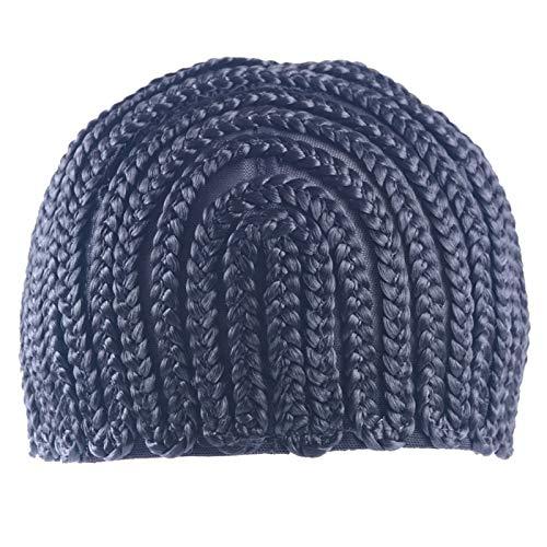 TOOGOO Super Elastische Cornrow Kappe für H?Keln Geflecht zu Weben PerüCke Kappen für die Herstellung Von PerüCken Top Qualit?T Weben Braid Kappe PerüCke Netz Schwarz Farbe 1Pc