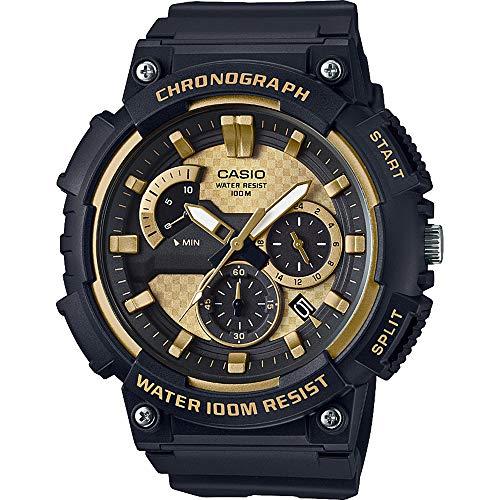 Casio Hommes Chronographe Quartz Montre avec Bracelet en Plastique MCW-200H-9AVEF