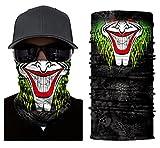 ILOVEDIY Multifunktionstuch Totenkopf Maske Clown Halstuch Halloween Kostüme Motorrad Ski Jagen...